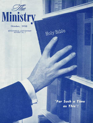 October 1958 cover image