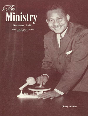 November 1958 cover image