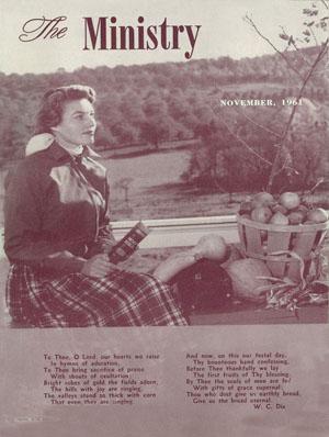 November 1961 cover image