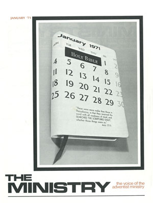 January 1971 cover image