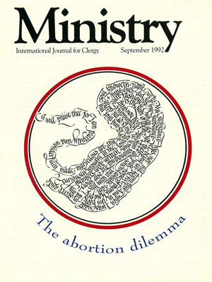 September 1992 cover image