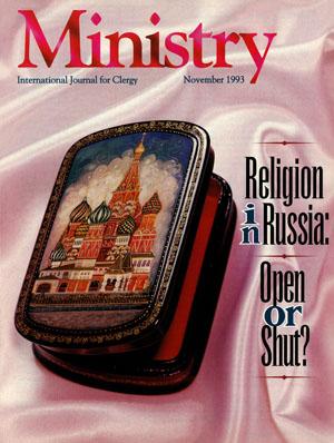 November 1993 cover image