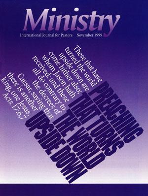 November 1999 cover image