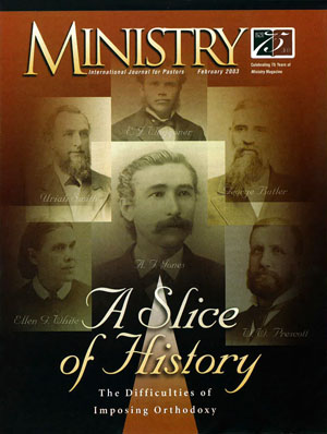 February 2003 cover image